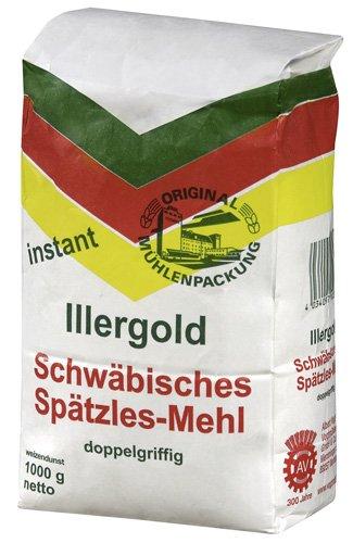 Illergold Schwäbisches Spätzle Mehl Instant, 10er Pack (10x 1 kg)