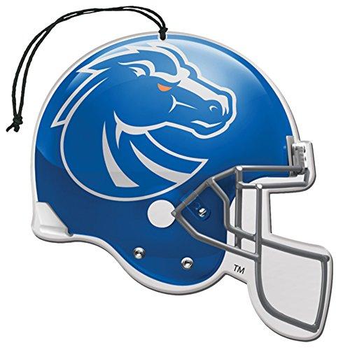 [해외]면허 NCAA 보이즈 스테이트 브론즈 누 큐카 헬멧 모양 공기 청정제 3 팩 세트 (선물 상자 포함)/Licensed NCAA Boise State Broncos Nu-Car Scent Helmet Shape Air