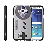 TurtleArmor | Compatible for Samsung Galaxy J7 Case (2015) | J700 [Slim Duo] Two Piece Hard Cover Slim Snap On Case on Black – Classic Game Controller For Sale