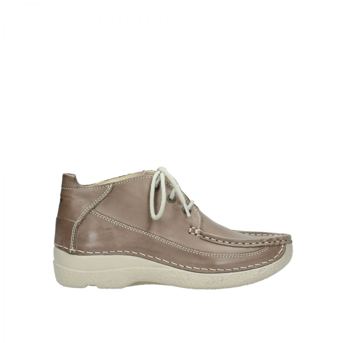 Wolky Confort Chaussures Corde à lacets Wolky 06200 Corde Rouleau MOC Confort 30150 Taupe Leather f258536 - piero.space