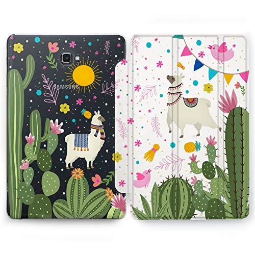 Wonder Wild Lama in Cactus Samsung Galaxy Tab