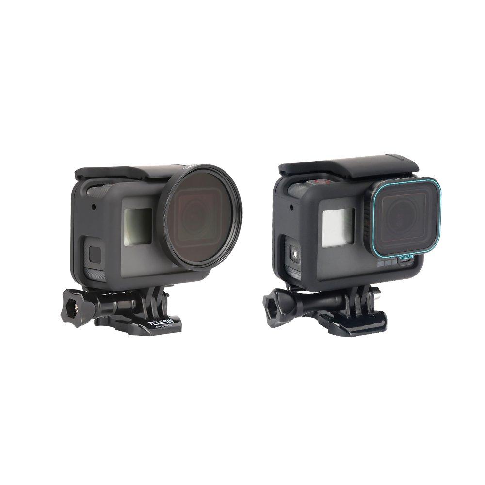 TELESIN CPL Fliter 1 Pack Lens Filter CPL Camera Lens Filter, Lens Protector Circular Polarizer Filters Lens Cap GoPro Hero 2018, Hero 6, Hero 5 Camera(CPL)