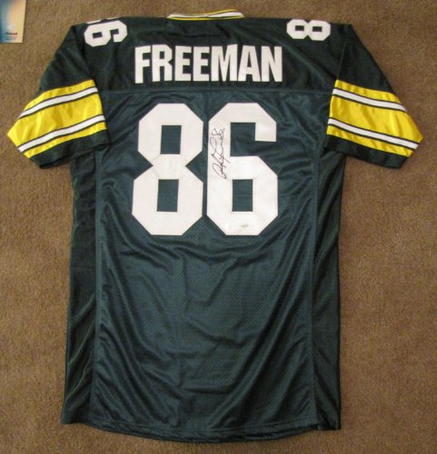 (Antonio Freeman Signed Jersey - Green Bay Packers)