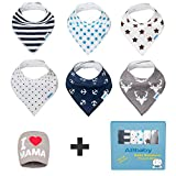 Best UNIQUE 1st Birthday Gifts For Boys - Bandana Baby Bibs for Boys and Girls, Review