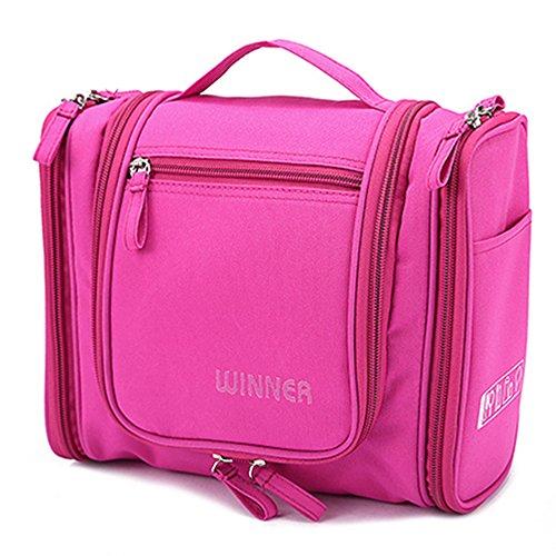 Winners Gym - WINNER Portable Waterproof Cosmetic Bag Toiletry Bag Travel Kit WINNER-A77 (Rose)