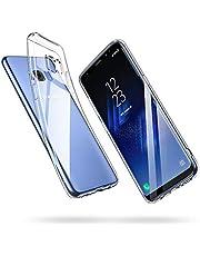 ESR Samsung S8 Phone Case, Crystal Clear Transparent Gel Back Case [Slim-Fit] [Anti-Scratch] [Shock Absorption] for Samsung Galaxy S8 (Clear)