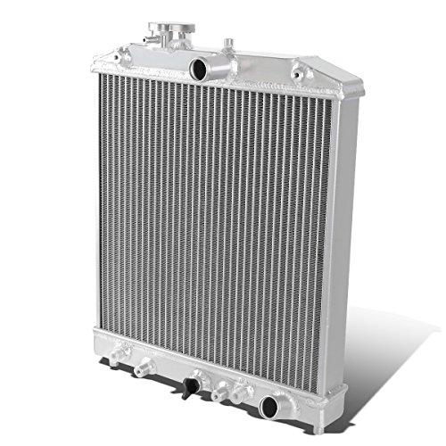 For Civic/Del Sol/Integra 3-Row Tri Core 60mm Aluminum Racing Radiator