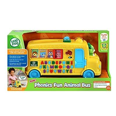 LeapFrog Alphabet Phonics Bus: Toys & Games