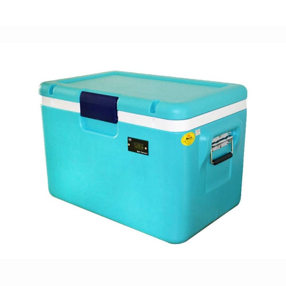 Ambiguity Kühlboxen,54L Impfstoff Insulin Tiefkühlkost Isolierung Tiefkühlkoffer