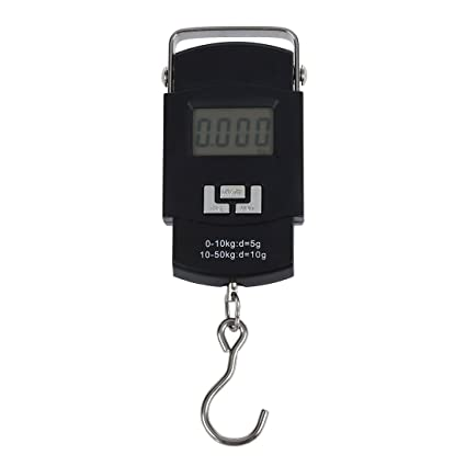 SODIAL(R) Bascula Digital de Precision Balanza Electronico 50kg¡Á10g