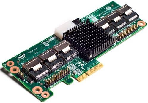 Intel RAID Expander Card RES2SV240 Controller w// 3 Mini SAS Cables