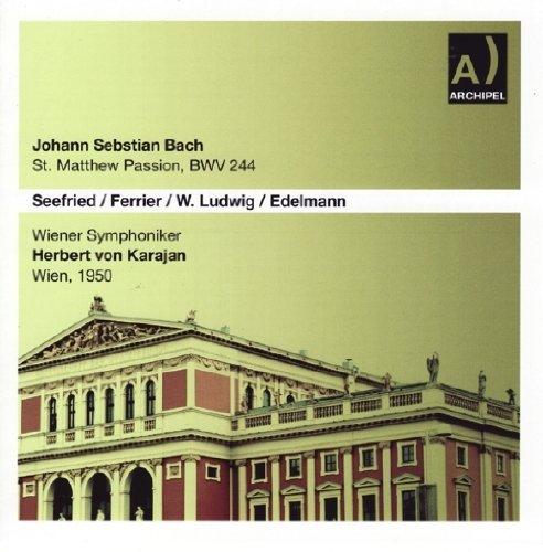Bach, J.S.: St Matthew Passion                                                                                                                                                                                                                                                    <span class=