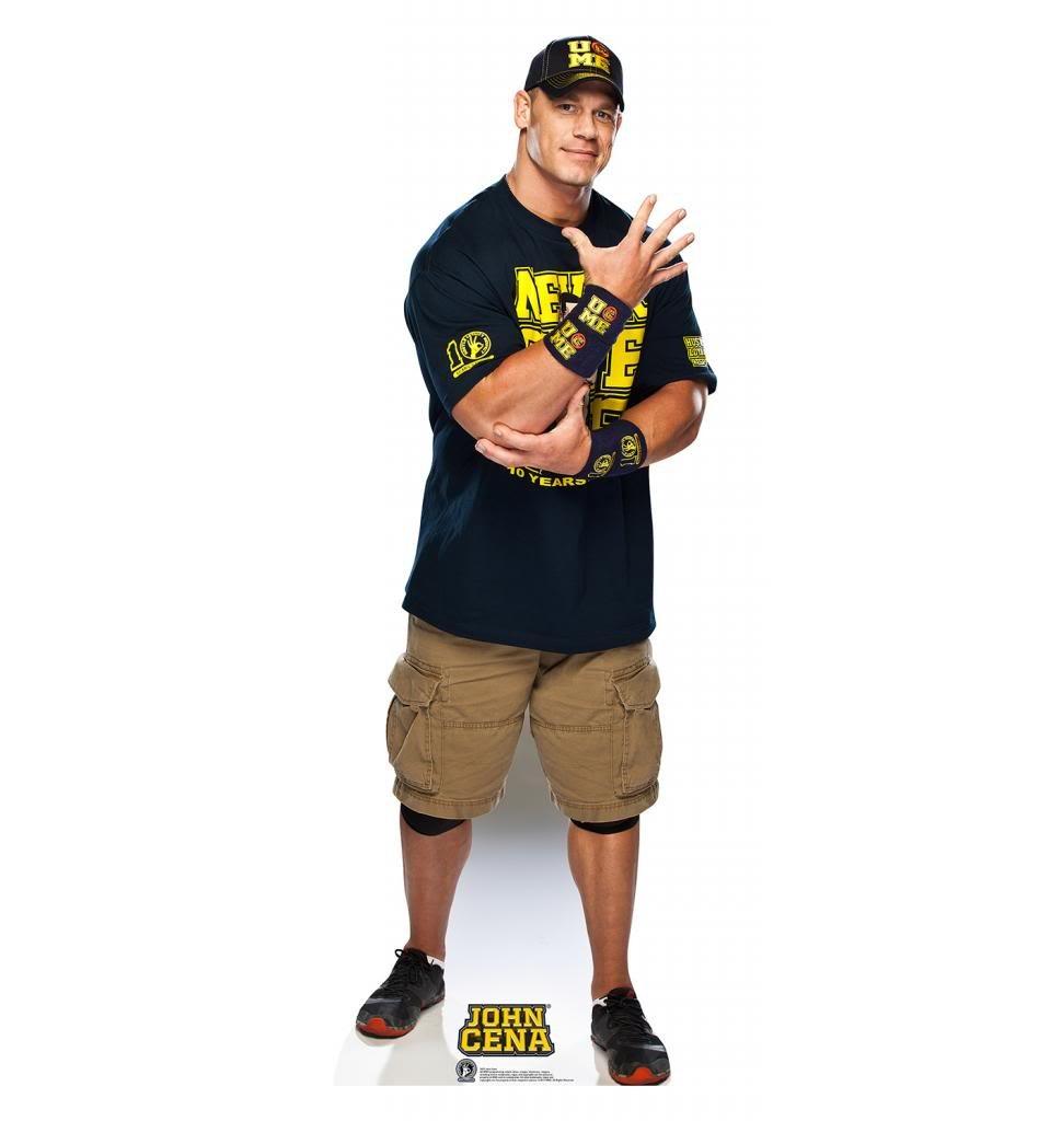 John Cena - WWE - Advanced Graphics Life Size Cardboard Standup 153 204553
