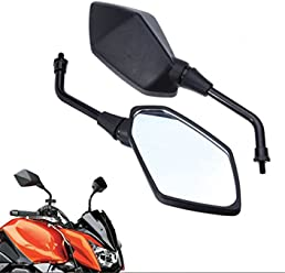 Motorcycle Black Left and Right Rearview Side Mirror For KAWASAKI NINJA 250R EX250 2008-2013 HK Moto