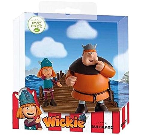 Pack 2 minifiguras Vicky & Faxe 7-9 cm. Vicky el Vikingo: Amazon.es: Juguetes y juegos