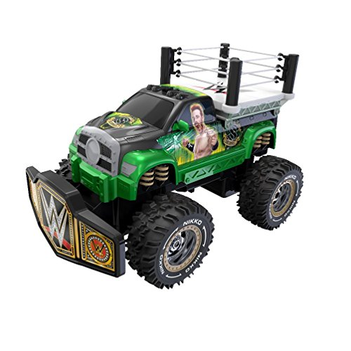 Toy State Nikko RC WWE Rolling Ring Sheamus Radio Control Vehicle by Toystate