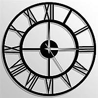 Metal Duvar Saati Roma Rakamlı