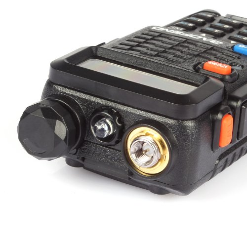 Dual-Band 136-174//400-520 MHz Two-Way Radio Transceiver BaoFeng BF-F8 Black