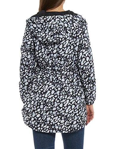 Femme 3 Imperméable Manteau Design Dalsa Multicolore qE4Zwvnfx