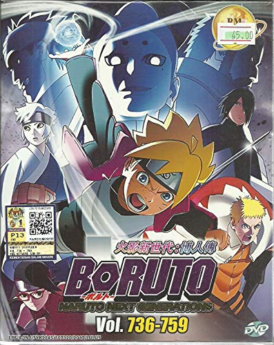 Series 759 - BORUTO : NARUTO NEXT GENERATIONS (BOX 26) - COMPLETE ANIME TV SERIES DVD BOX SET (736-759 EPISODES)