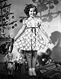 Box Framed Photo Print Shirley Temple Christmas Dress
