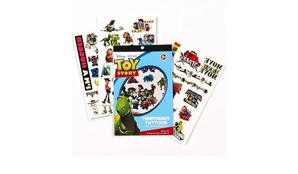 Disney Pixar Toy Story Over 50 Temporary Tattoos (tatuajes ...