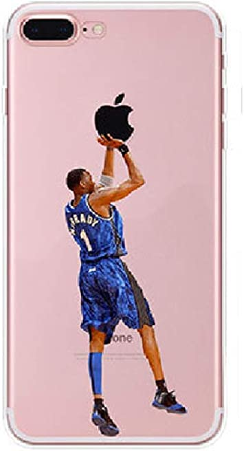 JLFDHR Funda de teléfono móvil Pintada con Baloncesto para iPhone ...