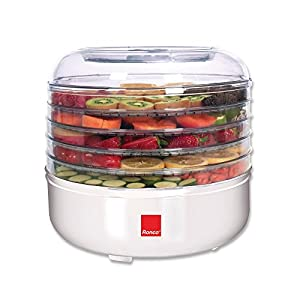 Ronco 5-Tray Electric Food Dehydrator, Drying up the food!!