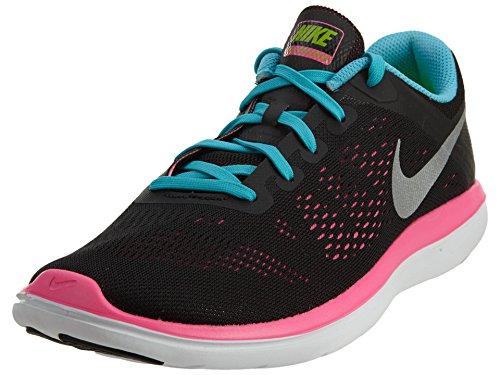 Black gs Rn Zapatillas Flex Running Nike Niñas Para 2016 De qEHfzHtn
