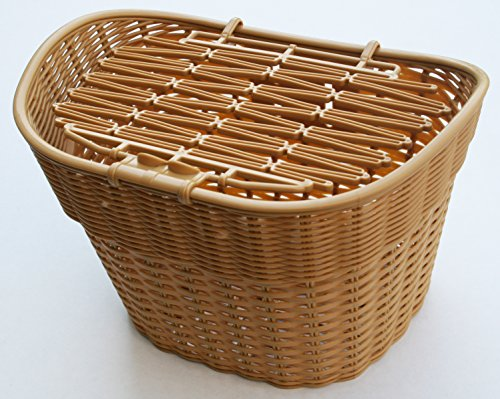 Bicycle Basket-Wicker Style