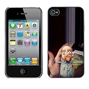 LASTONE PHONE CASE / Carcasa Funda Prima Delgada SLIM Casa Carcasa Funda Case Bandera Cover Armor Shell para Apple Iphone 4 / 4S / Up Comedian Beard Ginger