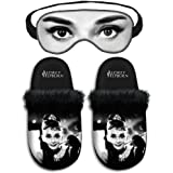 Audrey hepburn - Chaussons Audrey Hepburn et masque de nuit