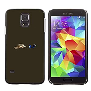 SKCASE Center / Funda Carcasa - Divertido erizo;;;;;;;; - Samsung Galaxy S5
