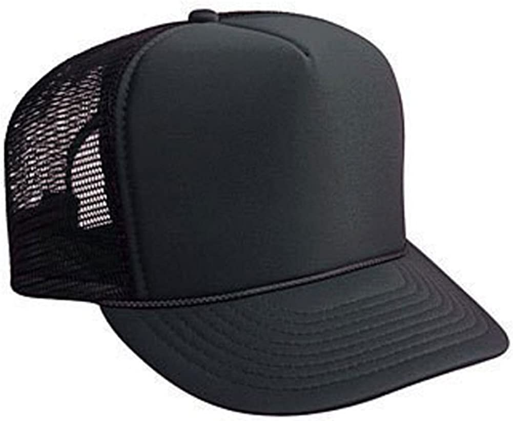 Black Basic Trucker Cap