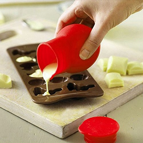 Mini Silicone Chocolate Melting Pot Baking Tool