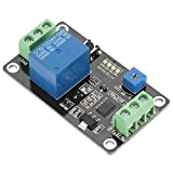 Akozon Timer Relay DC24V Self Locking Delay On Off