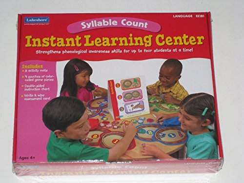 Lakeshore Syllable Count Instant Learning Center