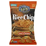 Lundberg Rice Chips Santa Fe Barbecue, Gluten Free 6.0 OZ(Pack of 3)