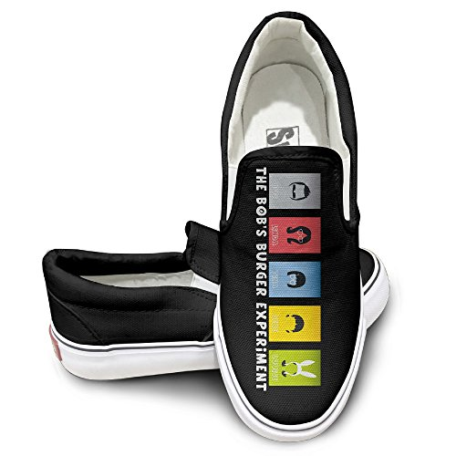 [YLS Unisex Animated Sitcom Bob's HamBurgers Footwall Canvas Shoes Cool Sport ShoesDancing Leisure Style] (Bobs Burgers Couples Costume)