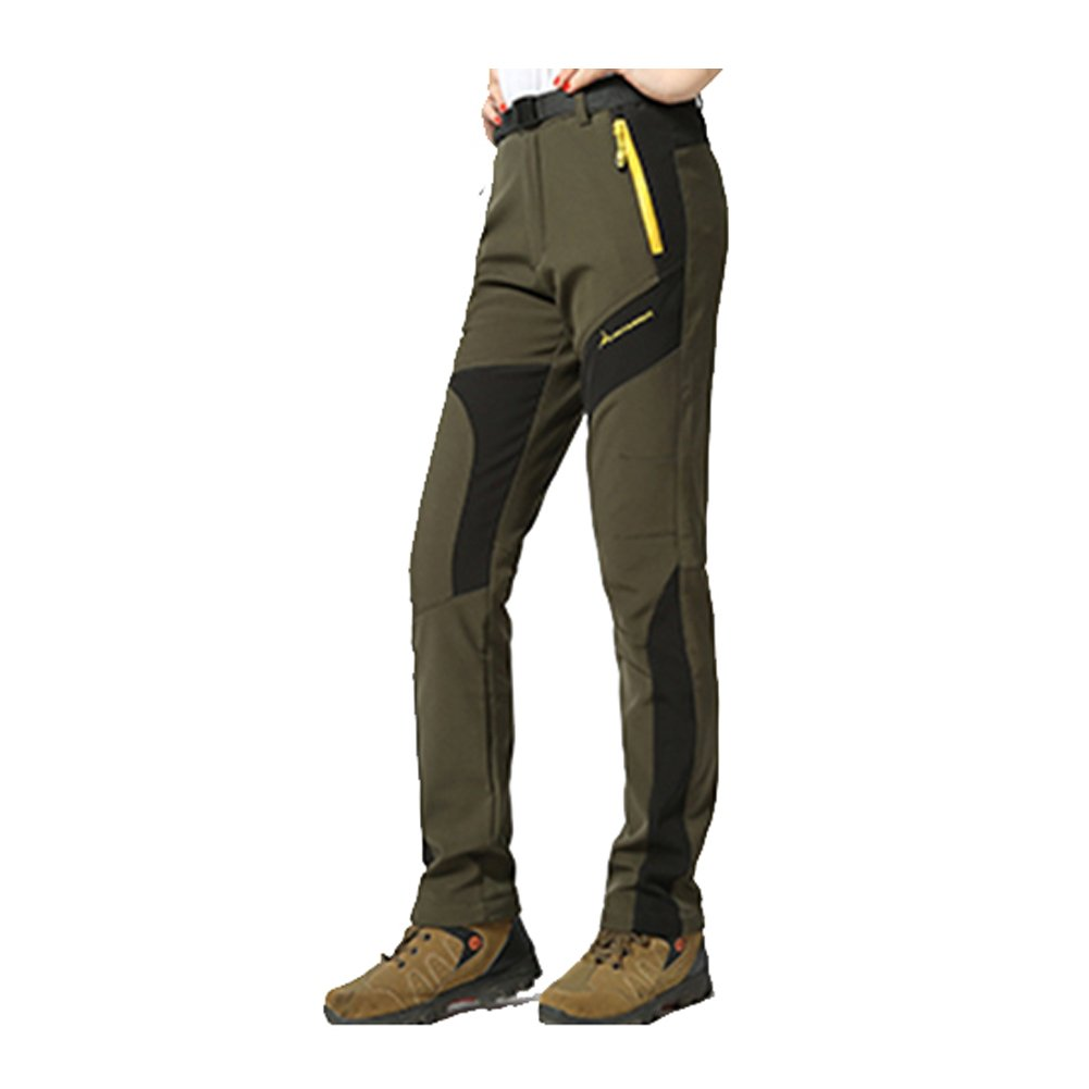 GITVIENAR Femme Pantalon /Étanche Pantalons Coupe-vent /à Rapide pour Camping et Randonn/ée P/êche Escalade en Plein Air /Épaississement de la chaleur