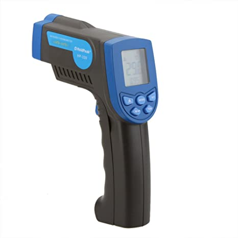 Termometro Infravermelho Non-contact 12:1 Digital Infrared IR Thermometer Laser Temperature Gun Sensor