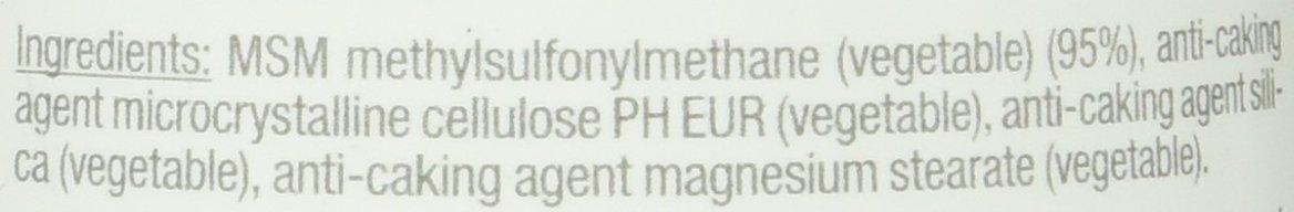 MSM (metilsulfonilmetano) con MeSH 80-1000 mg - 120 ...
