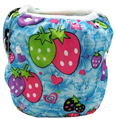 EKU Baby Lovely Reusable Cloth Swim Diaper 17 OS