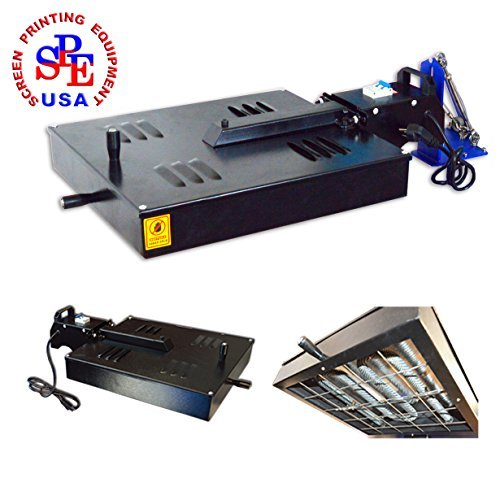 Multi-color Screen Printing Machine 110V 1600W Universal Dryer Screen Printing Equipment by Screen Printing  Auxiliary Equipment