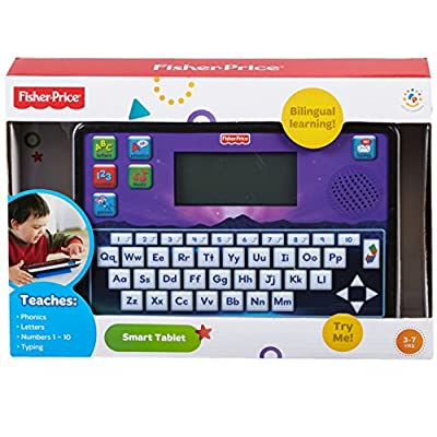 Fisher-Price Fun-2-Learn Smart Tablet: Toys & Games