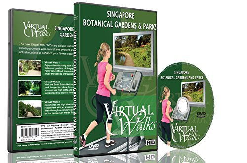 Virtual Walks - Botanical Gardens & Parks for indoor walking, treadmill and cycling workouts