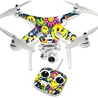 Skin For DJI Phantom 3 Standard – Peace Smile | MightySkins Protective, Durable, and Unique Vinyl Decal wrap cover | Easy To Apply, Remove, and Change Styles | Made in the USA
