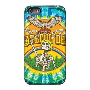 Iphone 6 AiY18947suRM Unique Design Vivid Grateful Dead Band Pictures Bumper Hard Phone Cover -InesWeldon