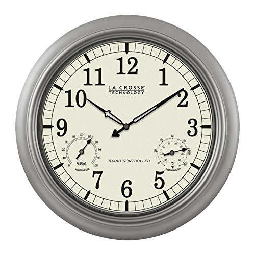 La Crosse Technology WT-3181PL Wall Clock - Analog - Quartz