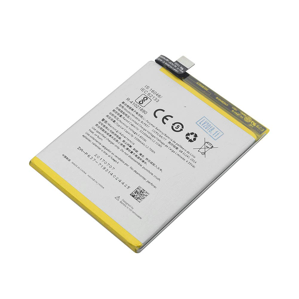 Amazon.com: Original BLP637 Battery for OnePlus Five One ...